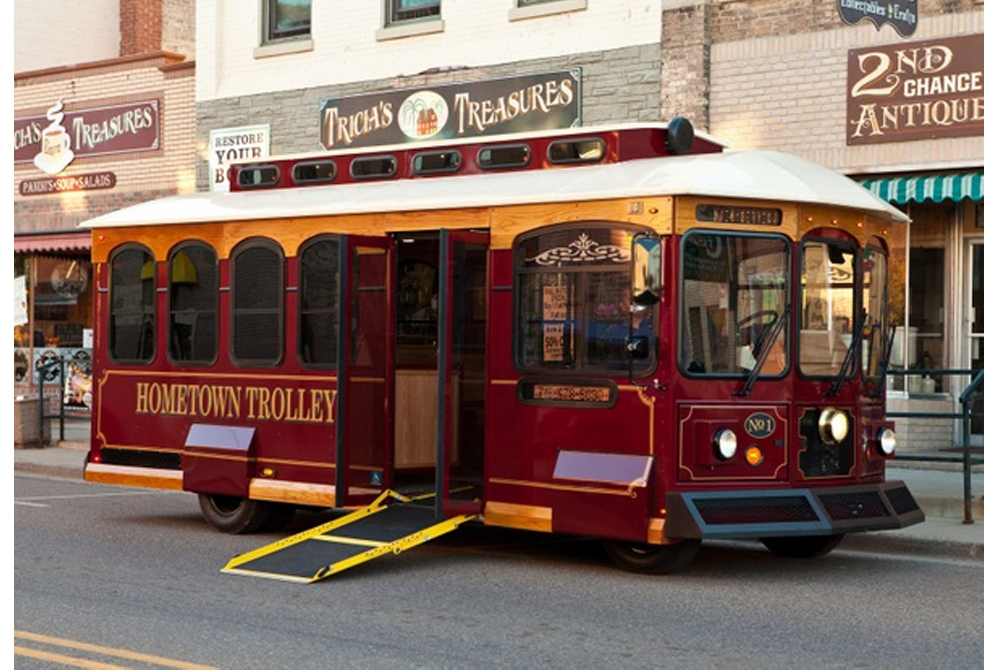 Hometown Trolley- Carriage
